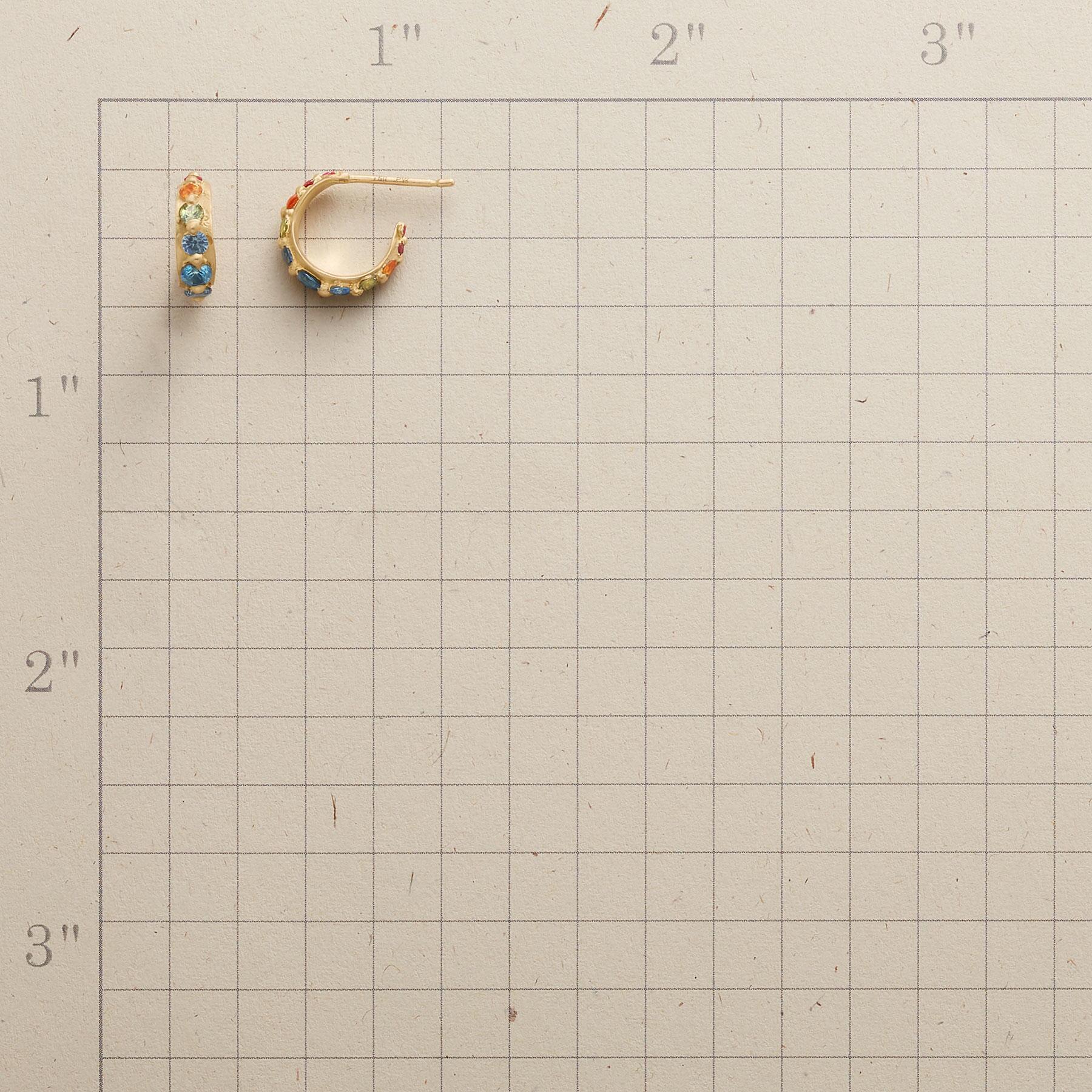 GALLERY OF SAPPHIRES EARRINGS: View 2
