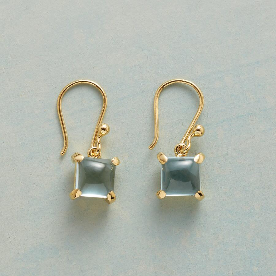 MERCURIAL BLUE EARRINGS