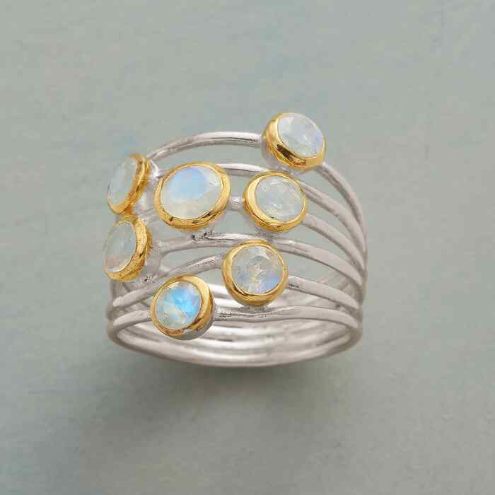 MULTI MOONS RING