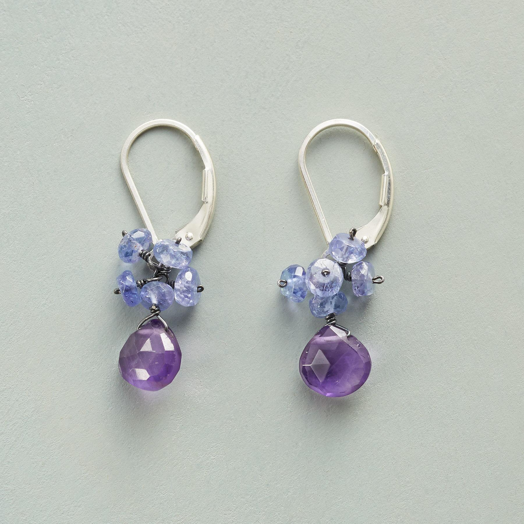 LILAC DREAMS EARRINGS: View 1