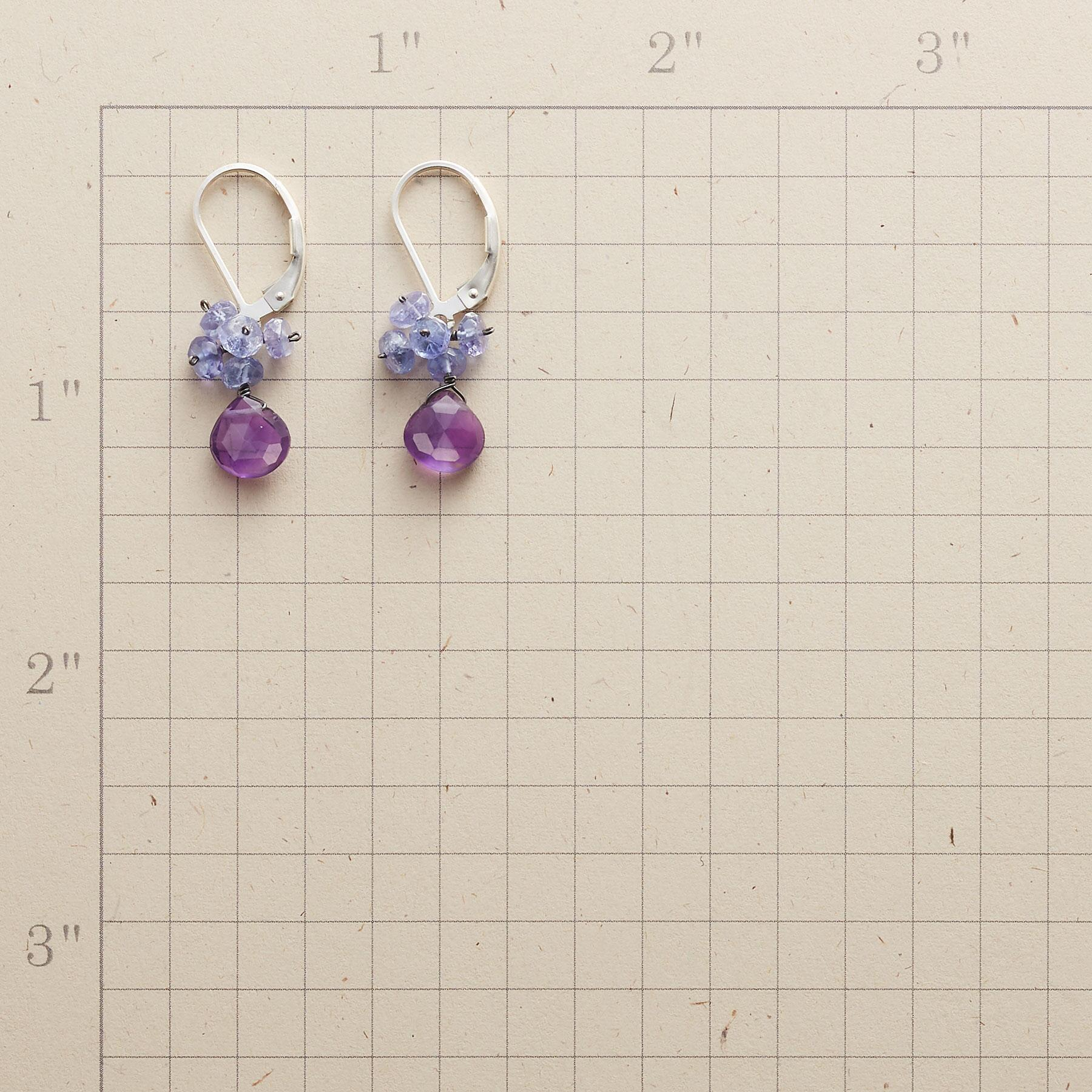 LILAC DREAMS EARRINGS: View 2