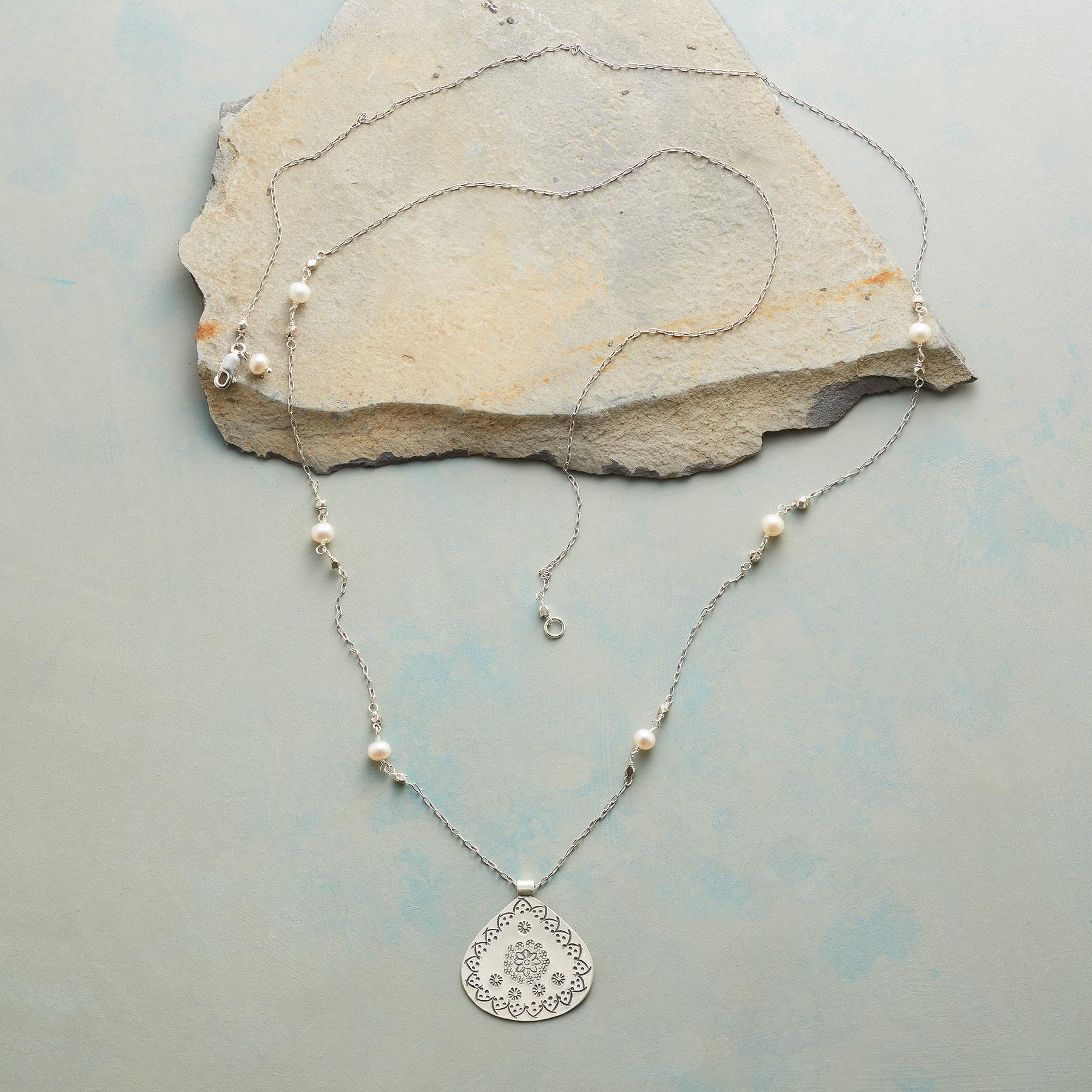 MEADOW MEDALLION NECKLACE: View 2