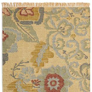 PASSION FLOWER KILIM RUG, LARGE