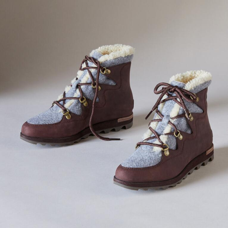 SNEAKCHIC ALPINE HOLIDAY BOOTS BY SOREL
