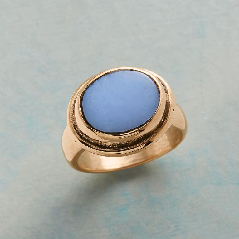 BRONZE BLUESTONE RING