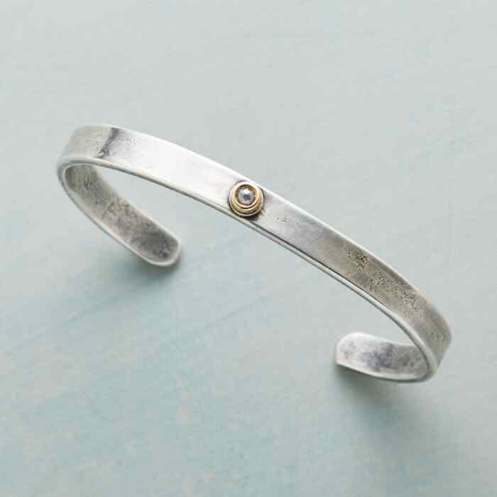 DIAMOND IN THE ROUGH CUFF BRACELET