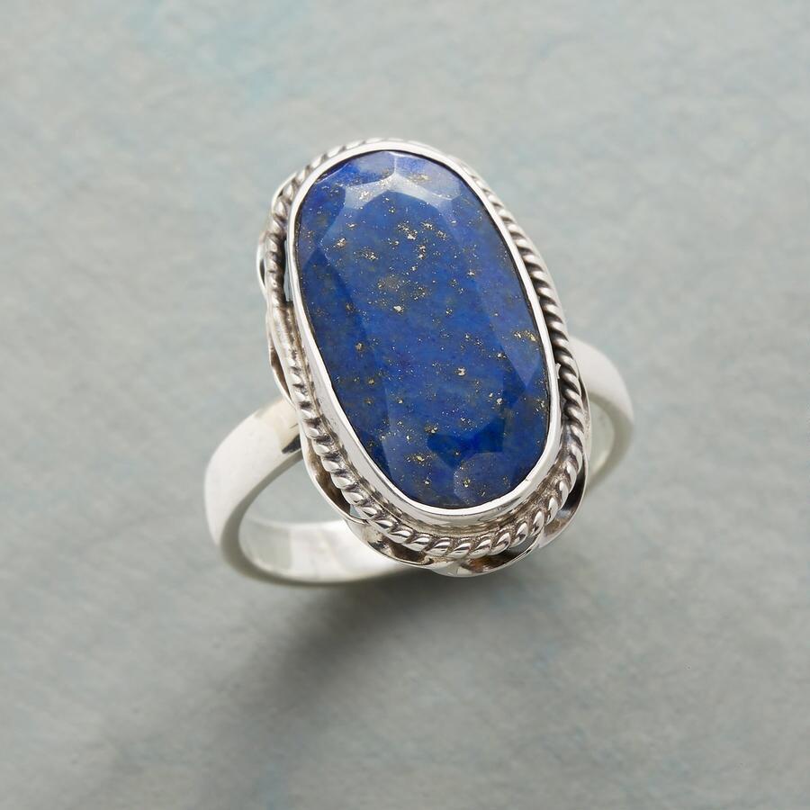LONG ON BLUE RING