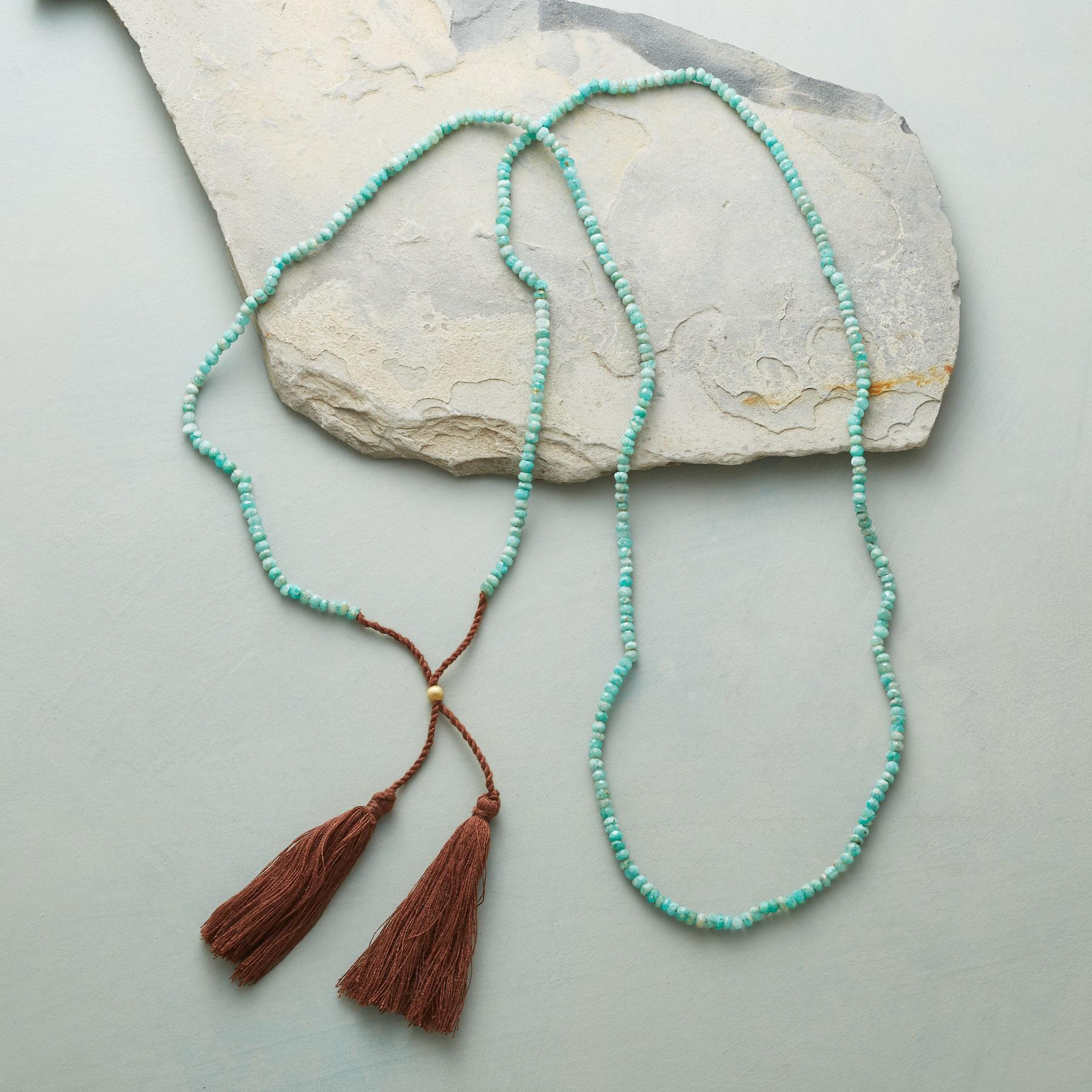 TWIN TASSEL NECKLACE: View 2