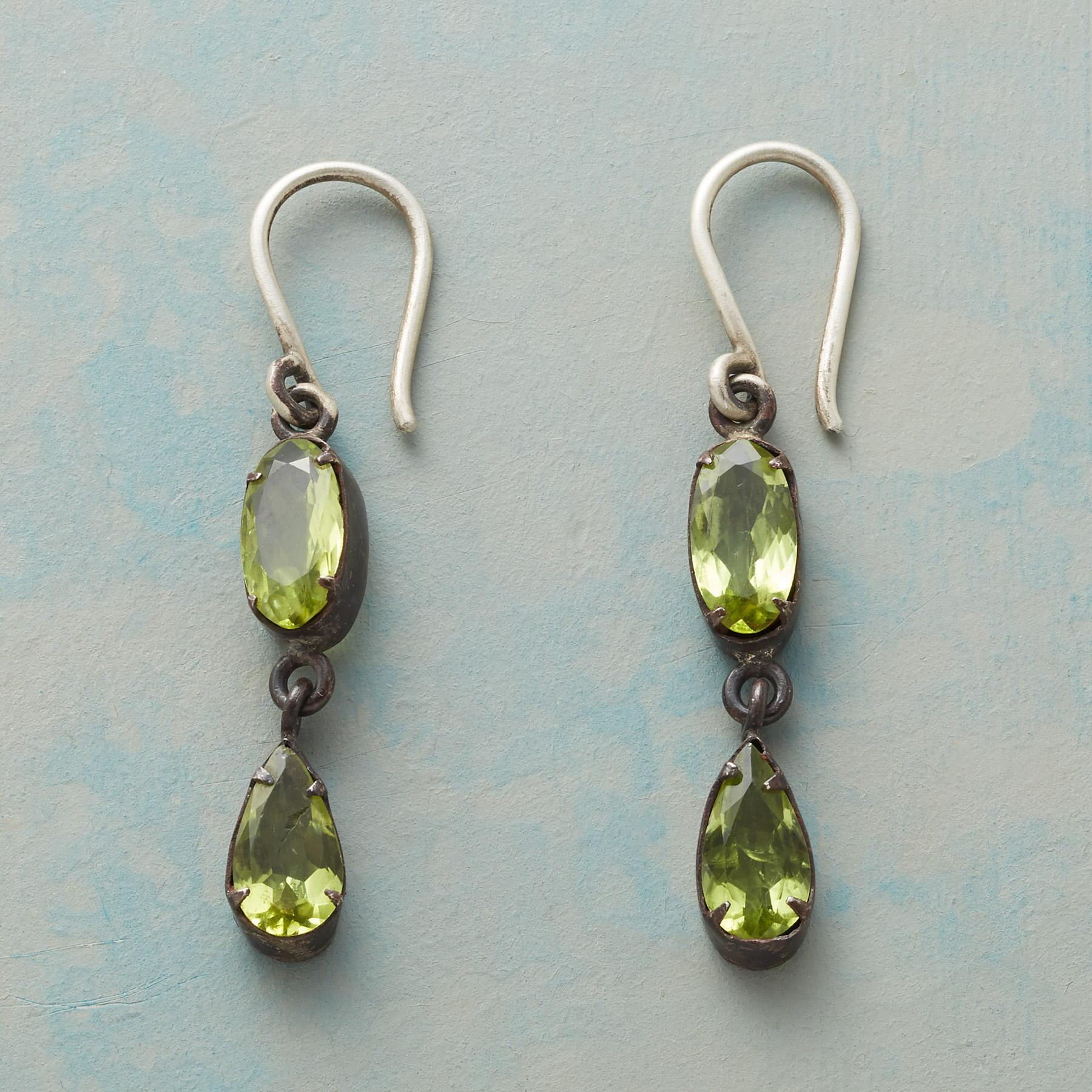 MINT DROP EARRINGS: View 1