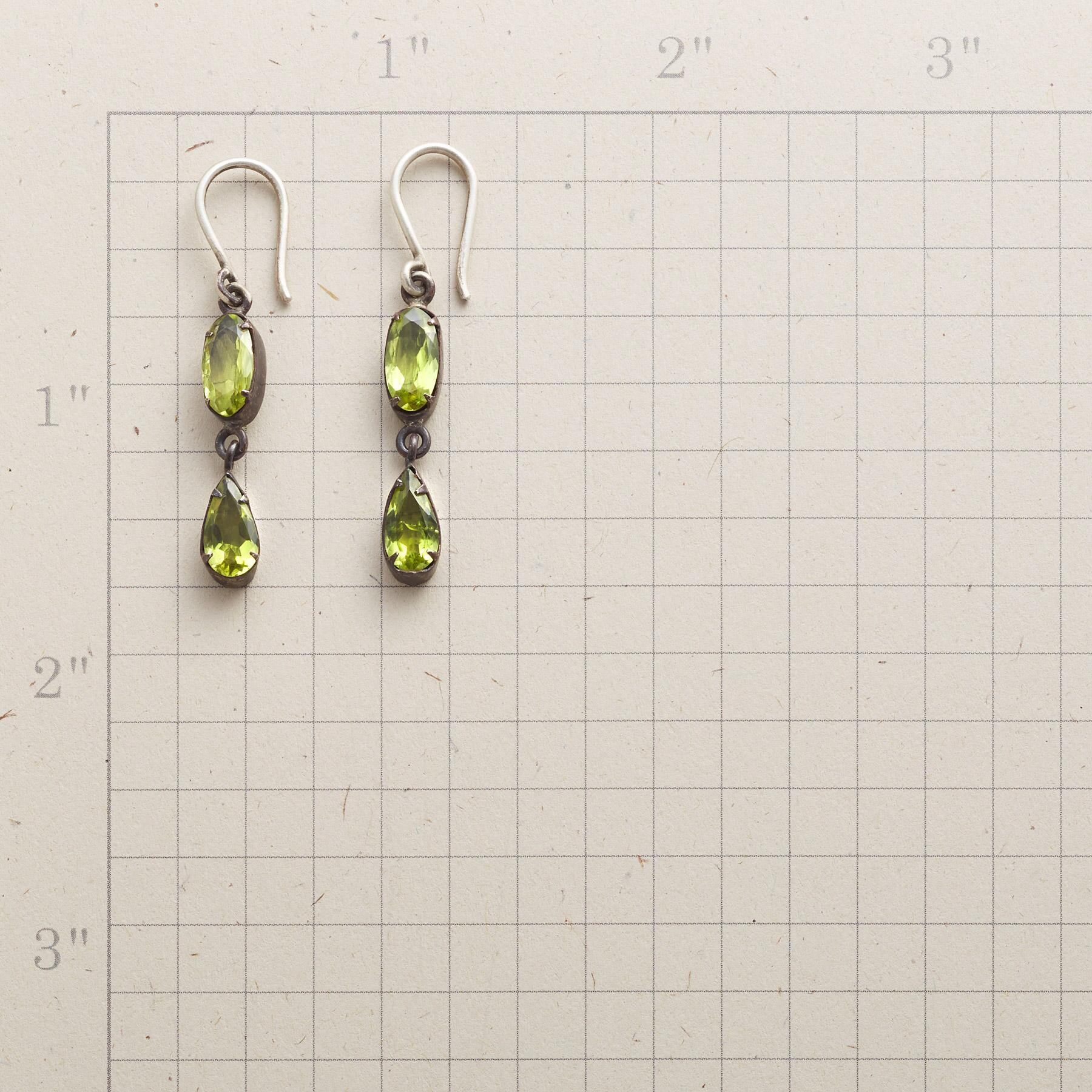 MINT DROP EARRINGS: View 2