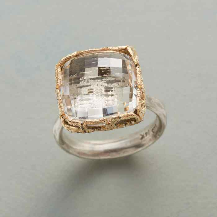 GLACIAL TREASURE RING