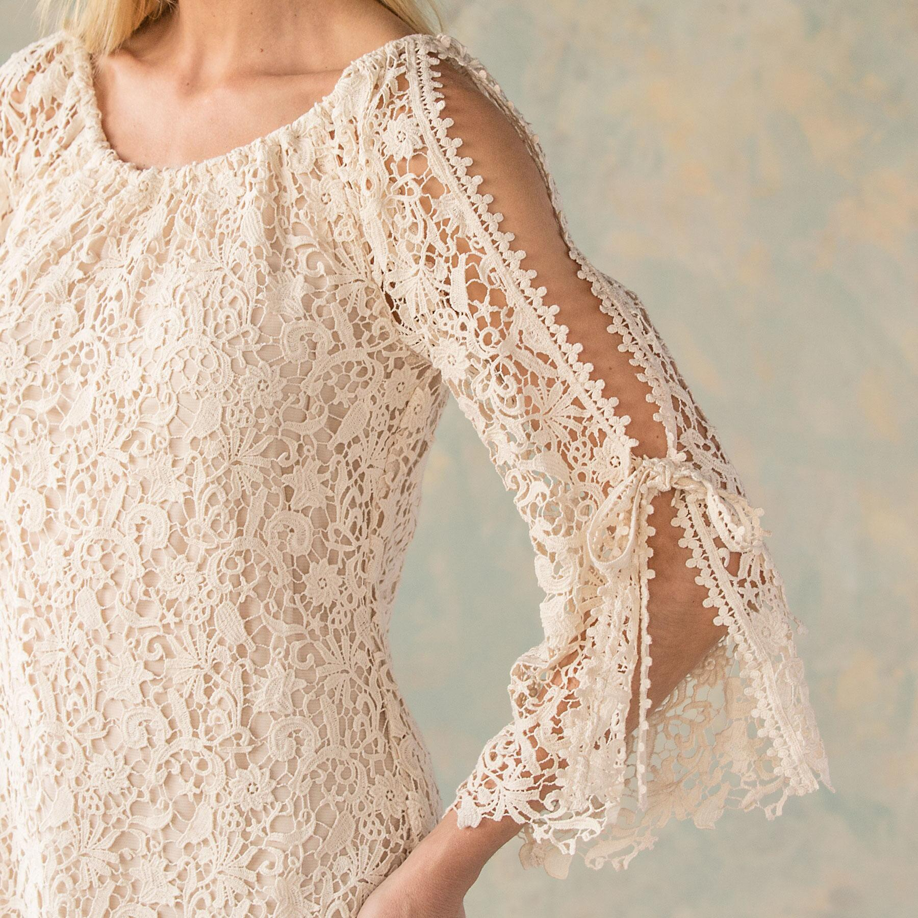 QUEEN ANNE'S LACE DRESS: View 3