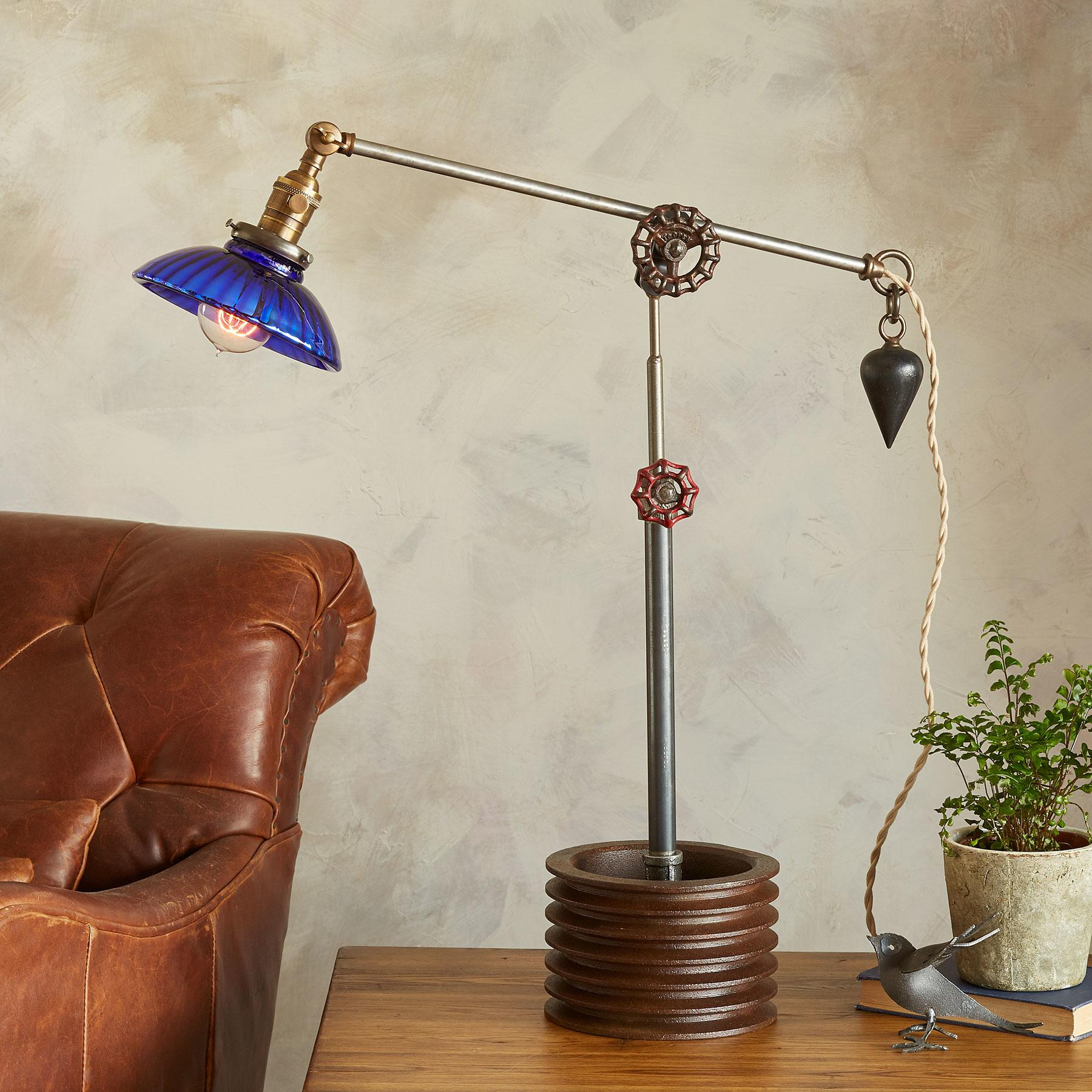 CUYAHOGA RIVER TABLE LAMP: View 1