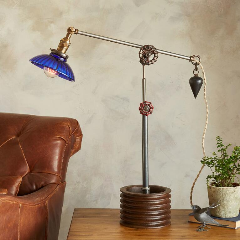 CUYAHOGA RIVER TABLE LAMP
