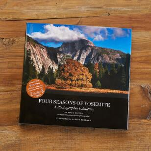 FOUR SEASONS OF YOSEMITE BOOK