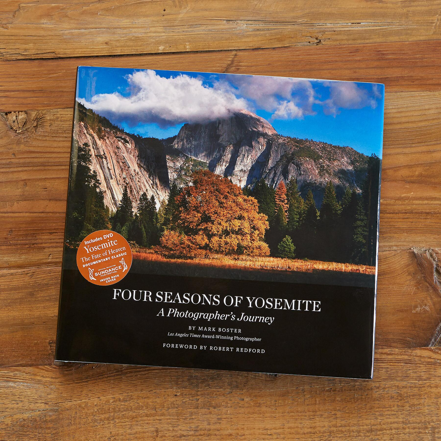 FOUR SEASONS OF YOSEMITE BOOK: View 1