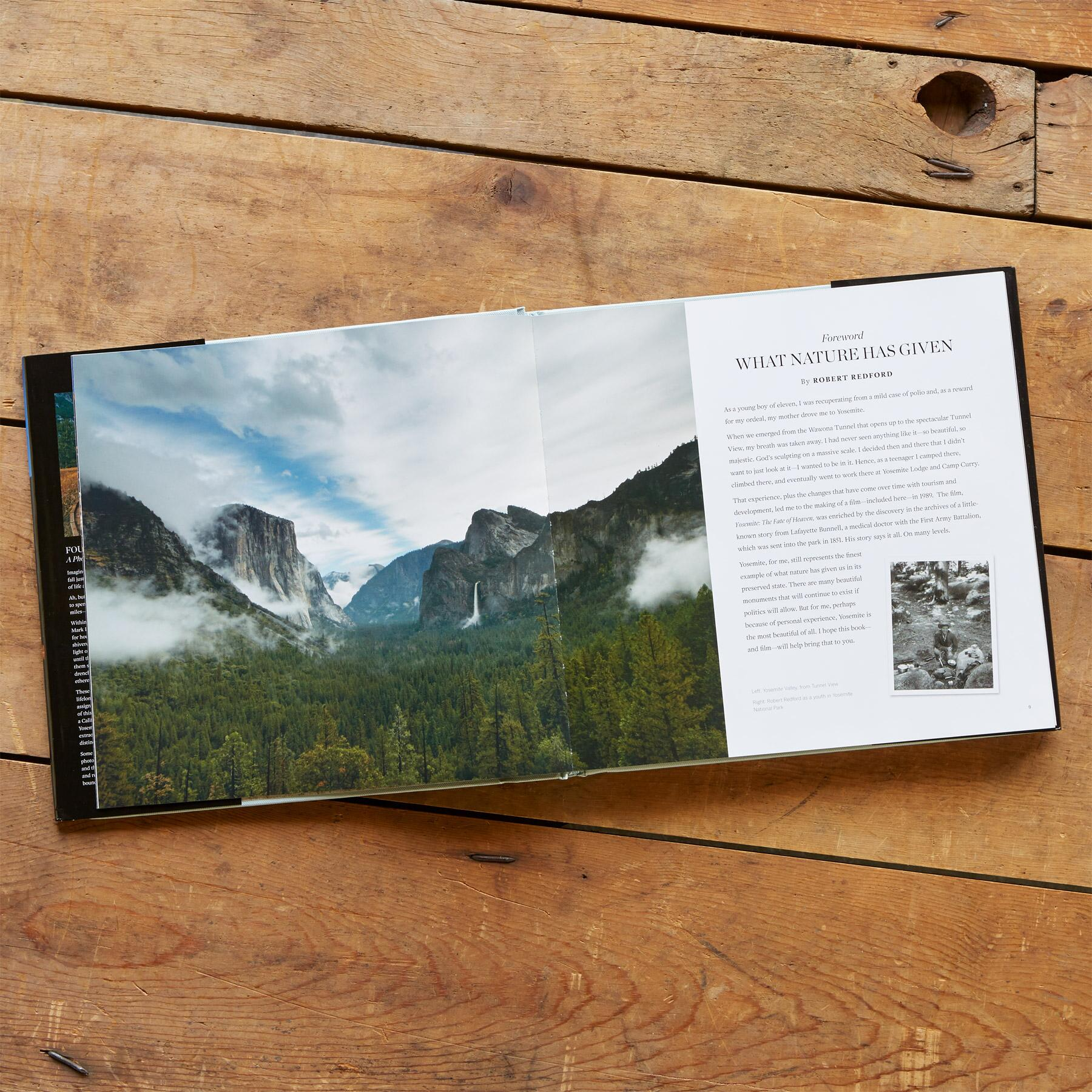 FOUR SEASONS OF YOSEMITE BOOK: View 2