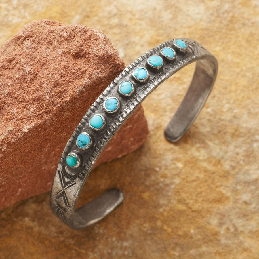 1950S MORENCI TURQUOISE CUFF