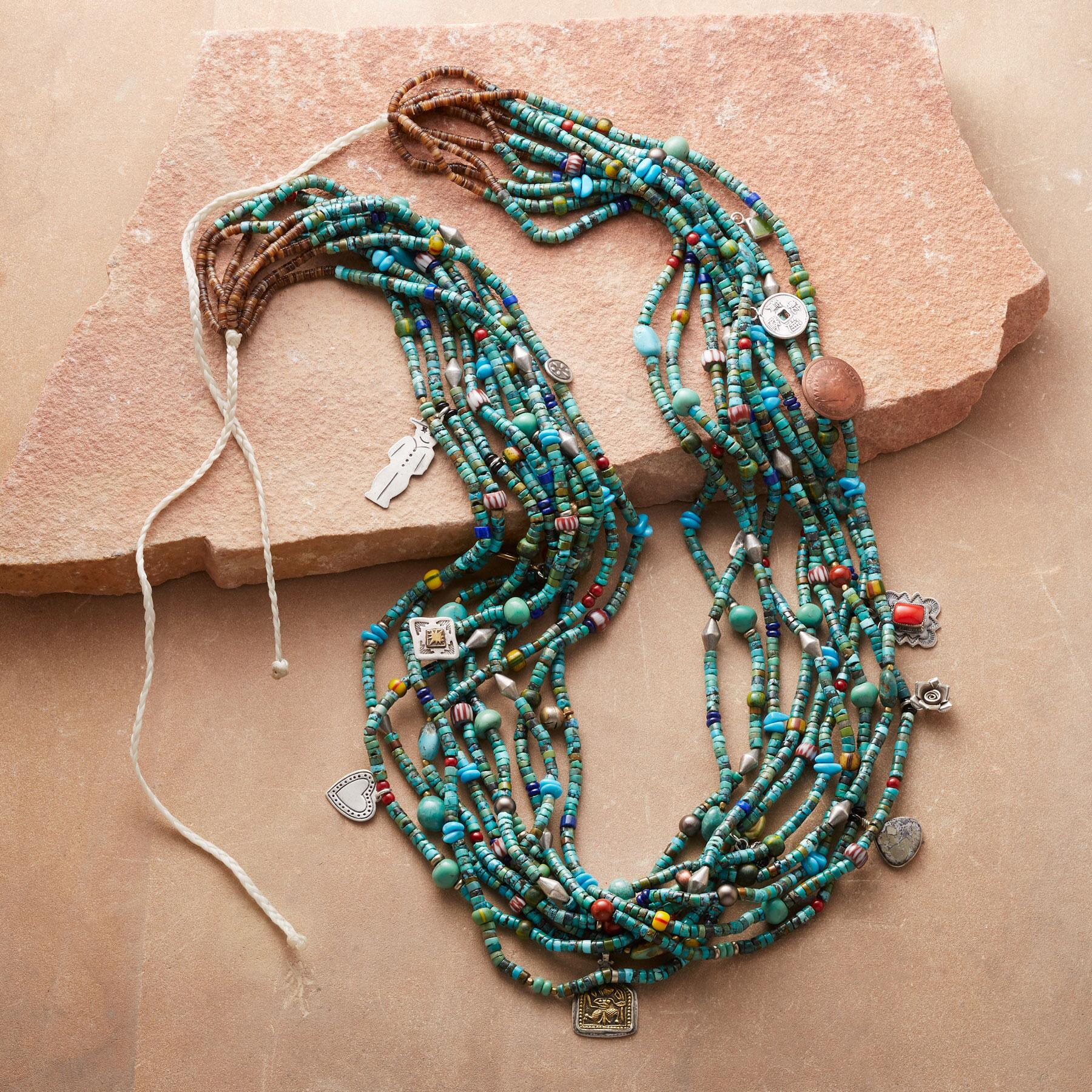 TURQUOISE TALISMAN NECKLACE: View 2