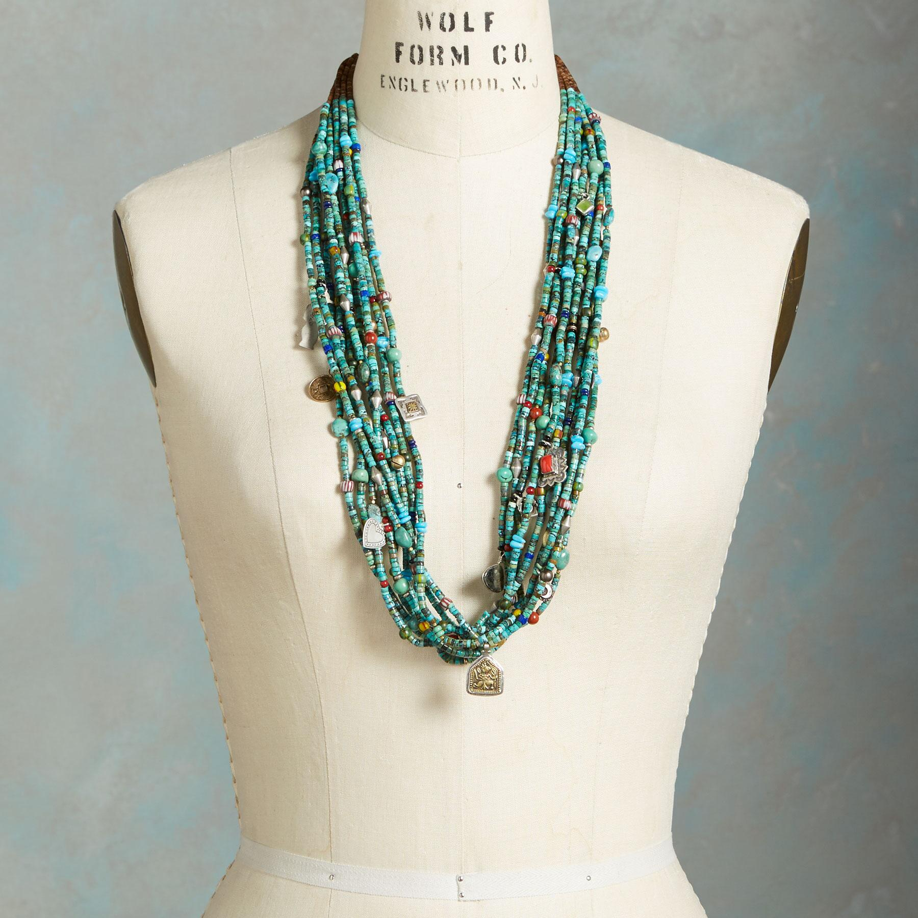 TURQUOISE TALISMAN NECKLACE: View 3