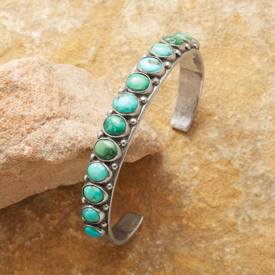 1940S CANDELARIA TURQUOISE CUFF