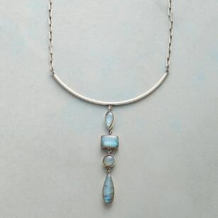 LABRADORITE FALLS NECKLACE