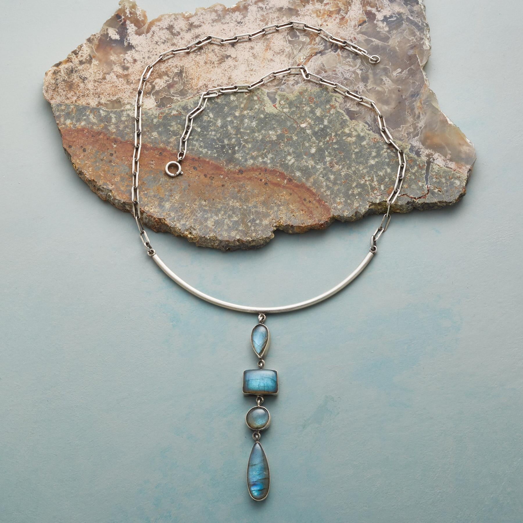 LABRADORITE FALLS NECKLACE: View 2