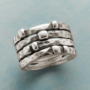 FOUR BY SEVEN STERLING RING