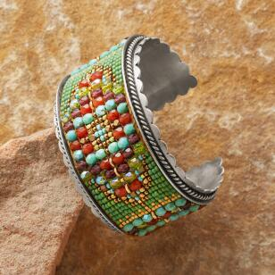 SOUTHWEST TAPESTRY CUFF