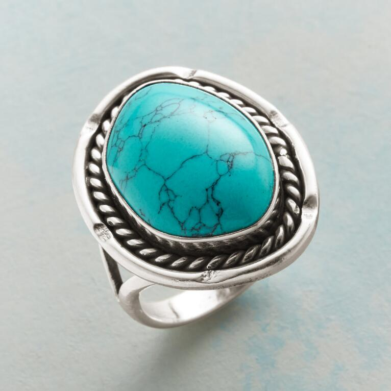 RODEO TURQUOISE RING