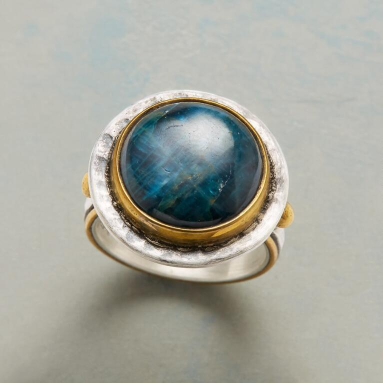 EMBRACE OF BLUE RING