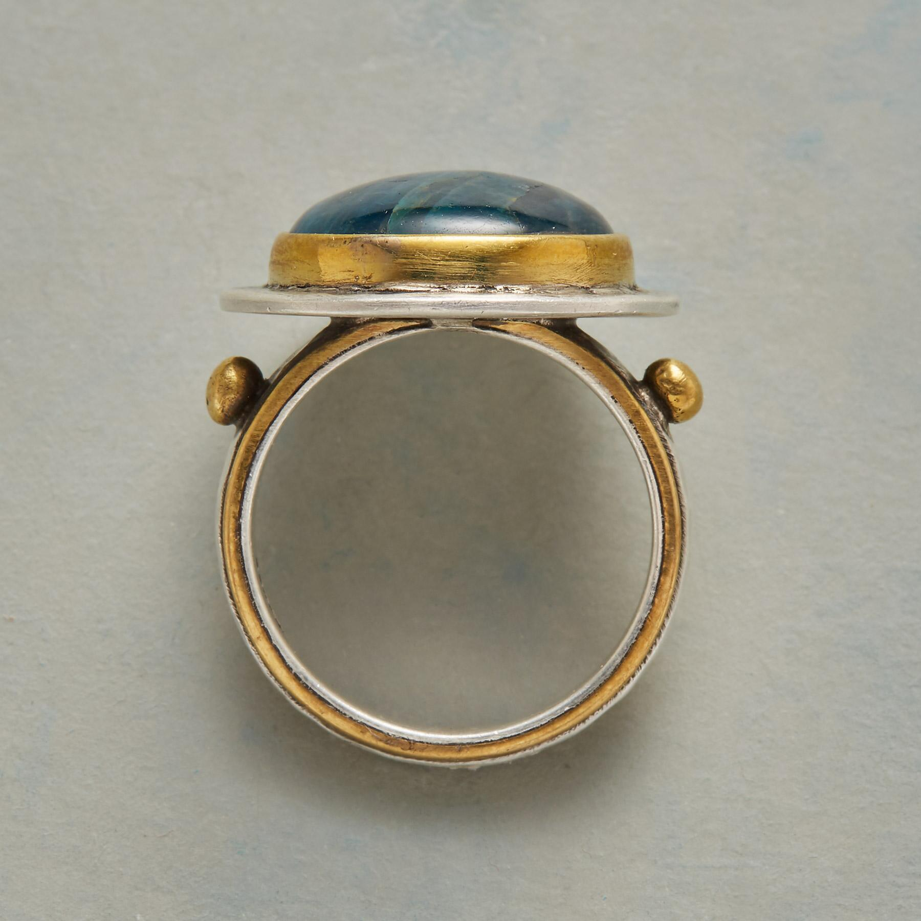 EMBRACE OF BLUE RING: View 2