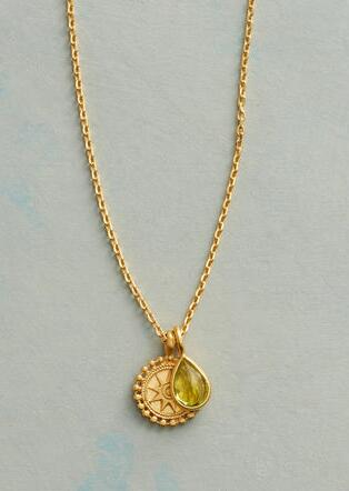 SUNNYSIDE BIRTHSTONE NECKLACE