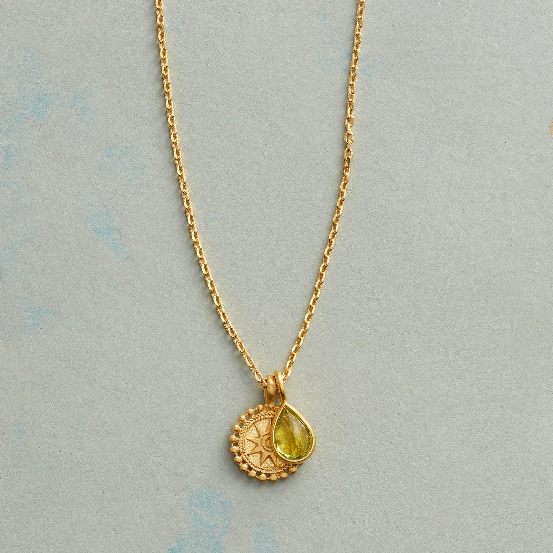SUNNYSIDE BIRTHSTONE NECKLACE: View 1