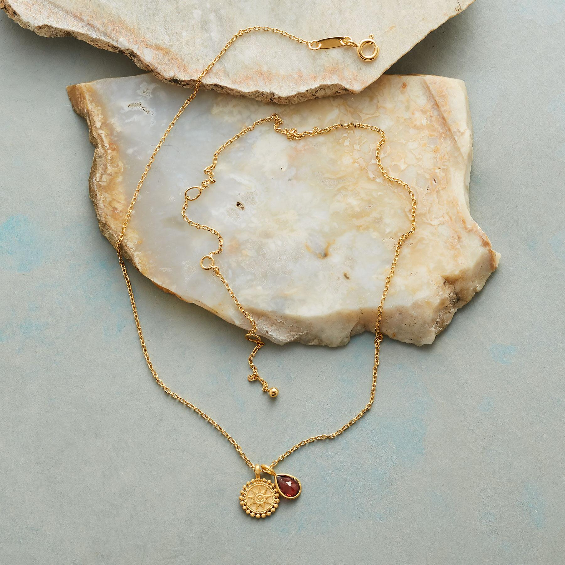 SUNNYSIDE BIRTHSTONE NECKLACE: View 2