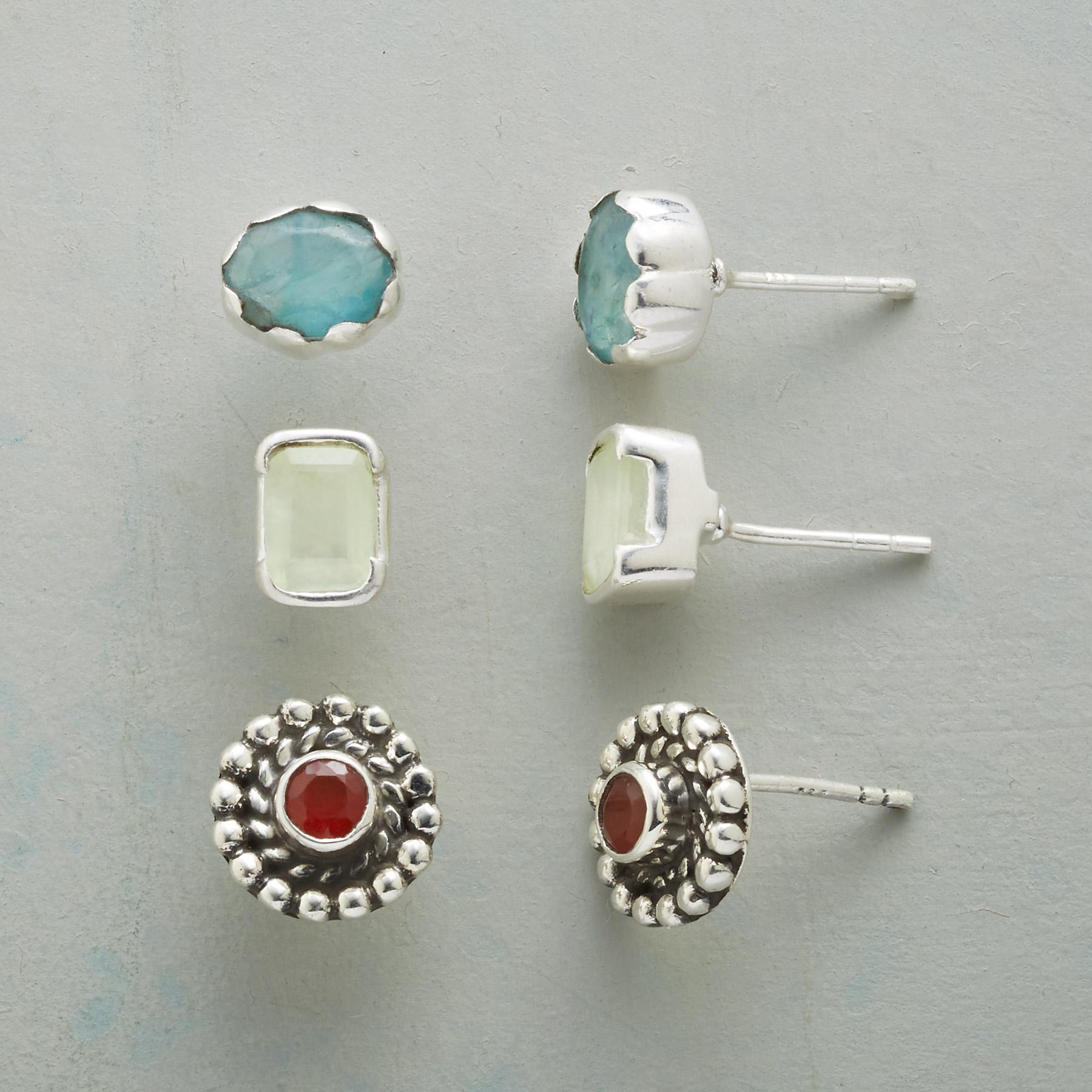 ARTFUL OPTIONS EARRING TRIO: View 1