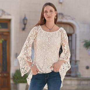 LACE OBSESSION TUNIC