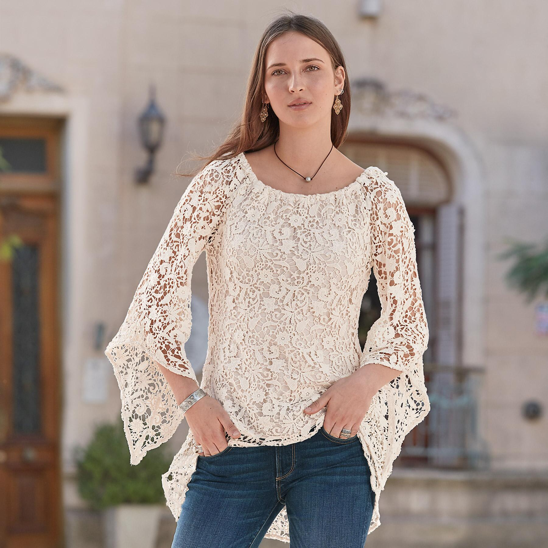 LACE OBSESSION TUNIC: View 1