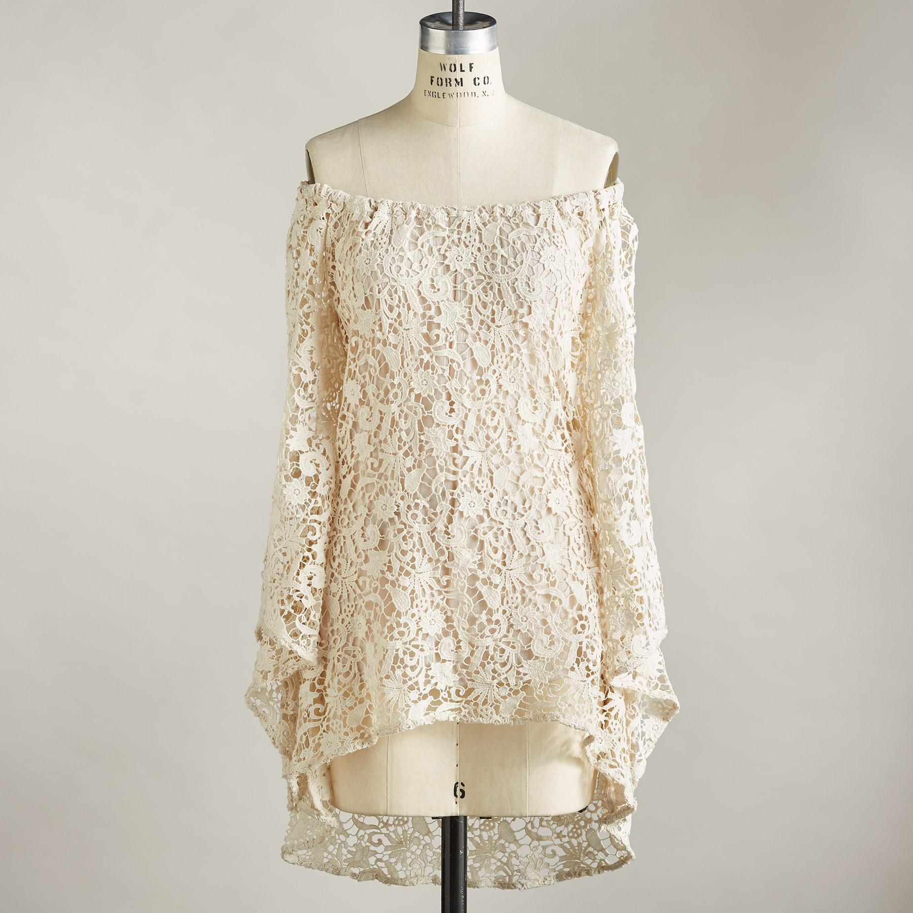 LACE OBSESSION TUNIC: View 3