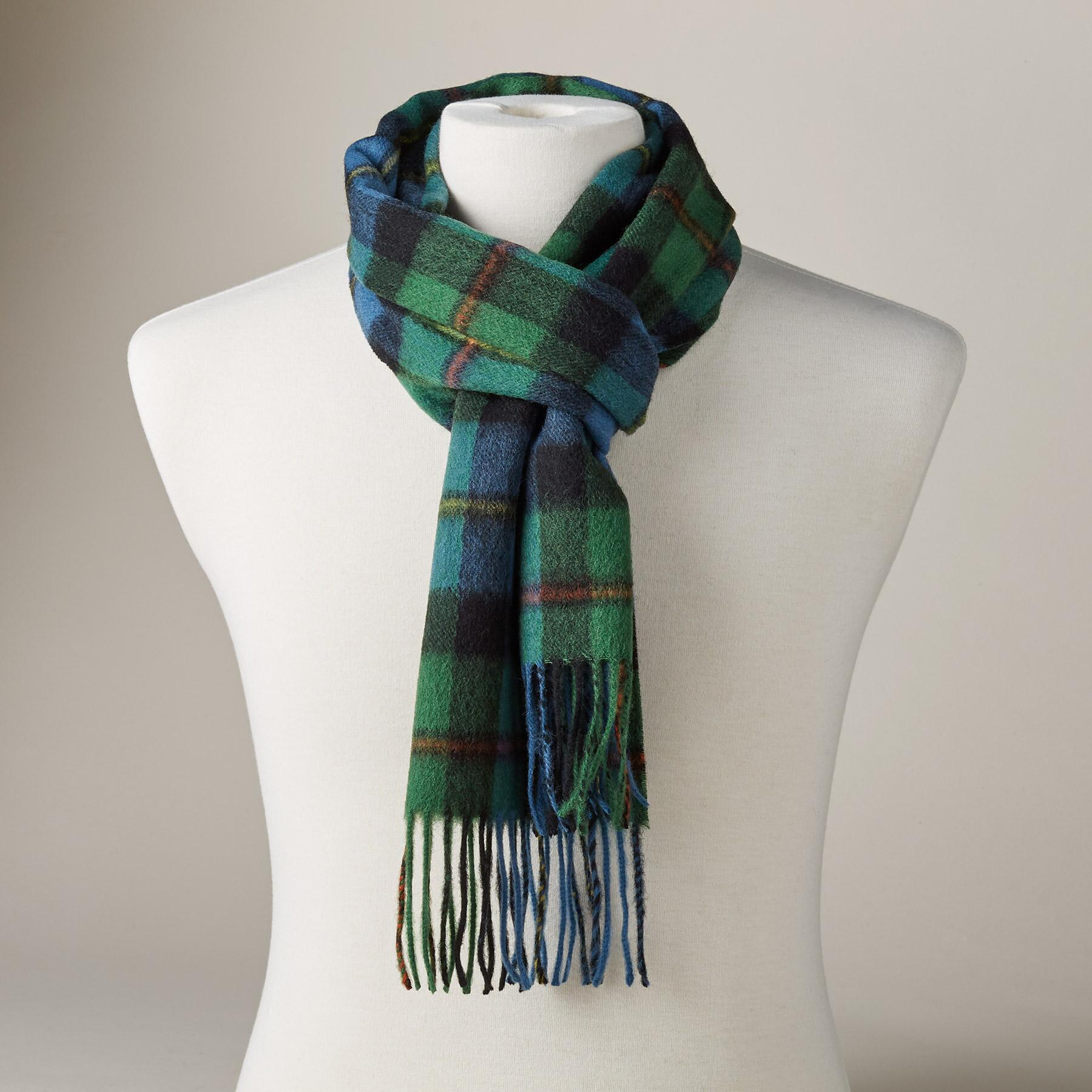 ANTIQUE MACLEOD SCARF: View 1