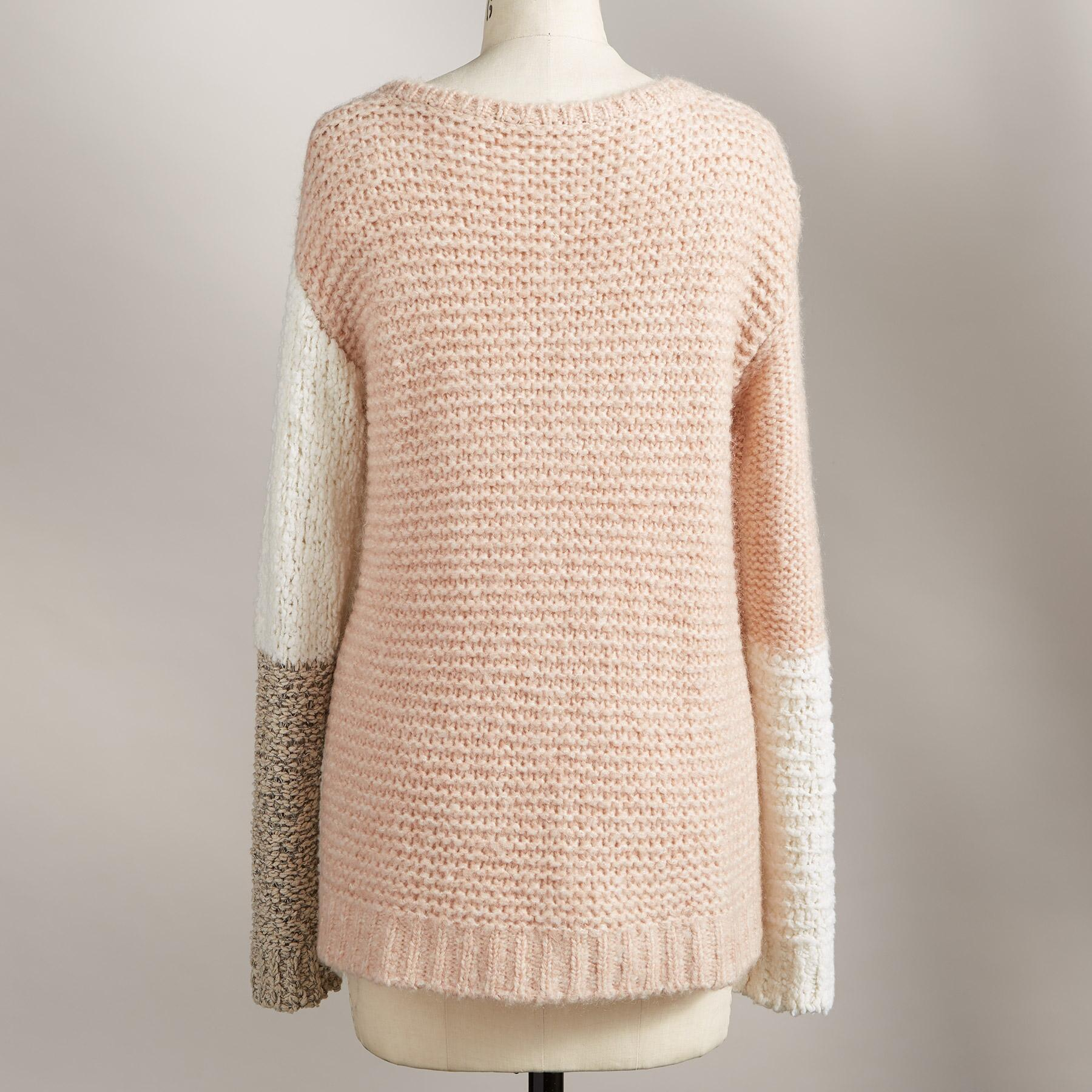 CLAUDIA COLORBLOCK PULLOVER: View 2
