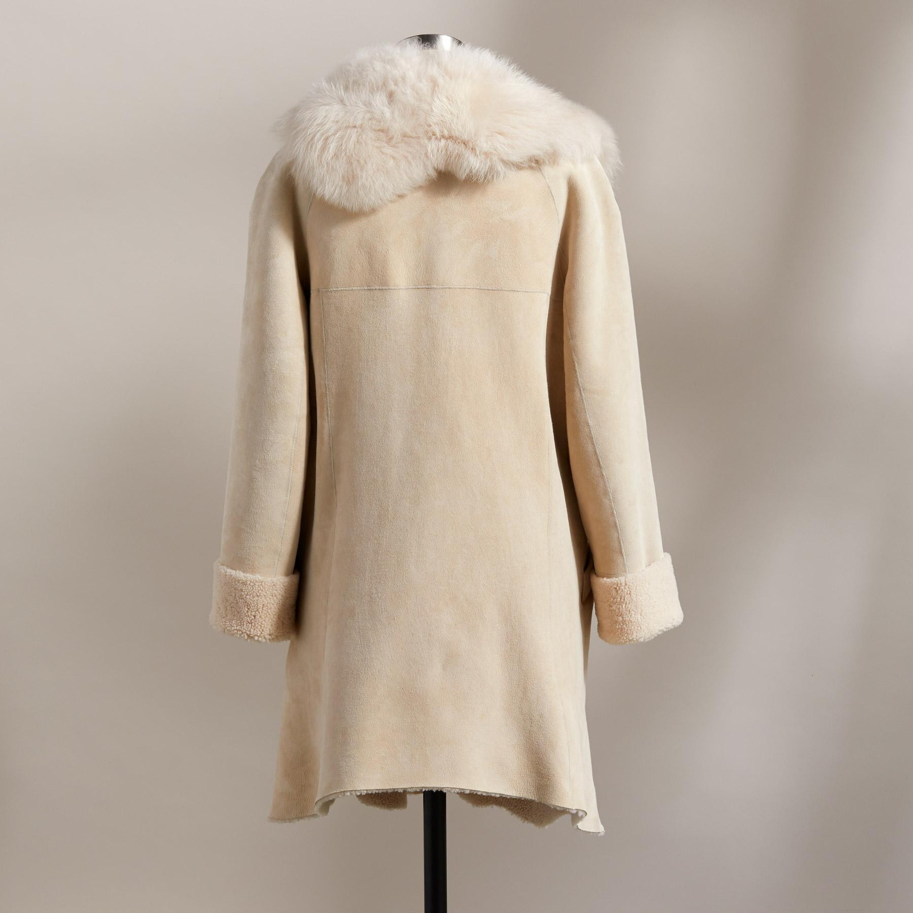 NORTHERN WOODS SHEARLING COAT: View 5
