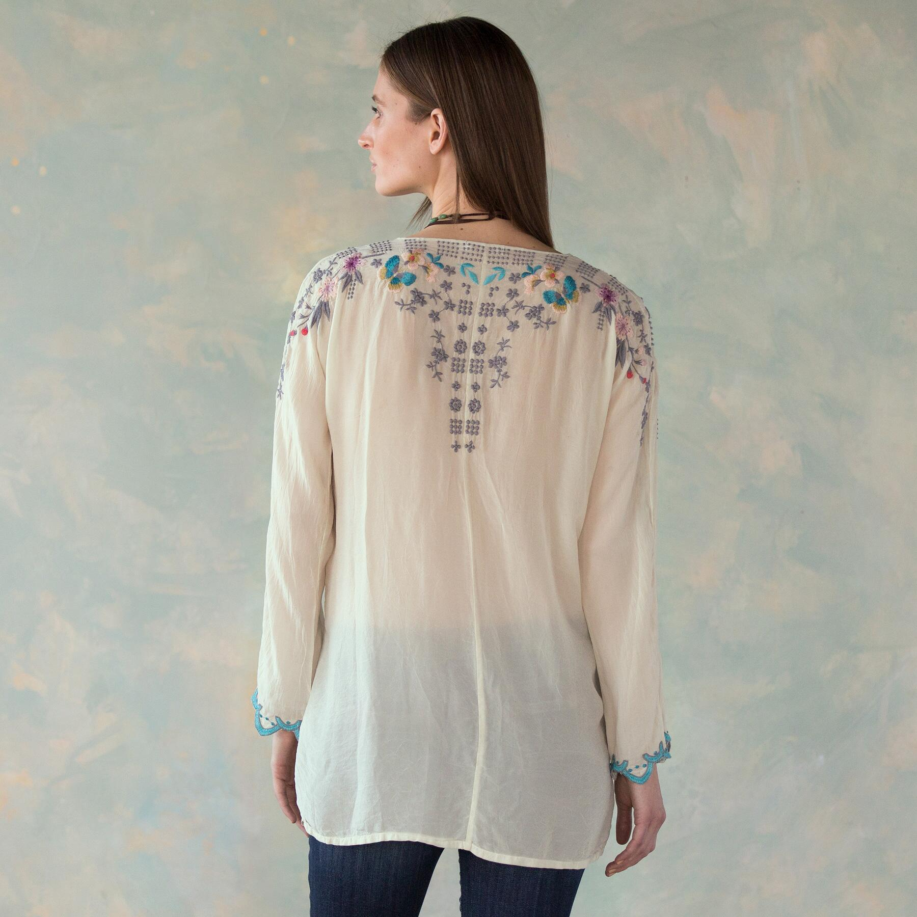 NECTAR & ROSE TOP: View 2