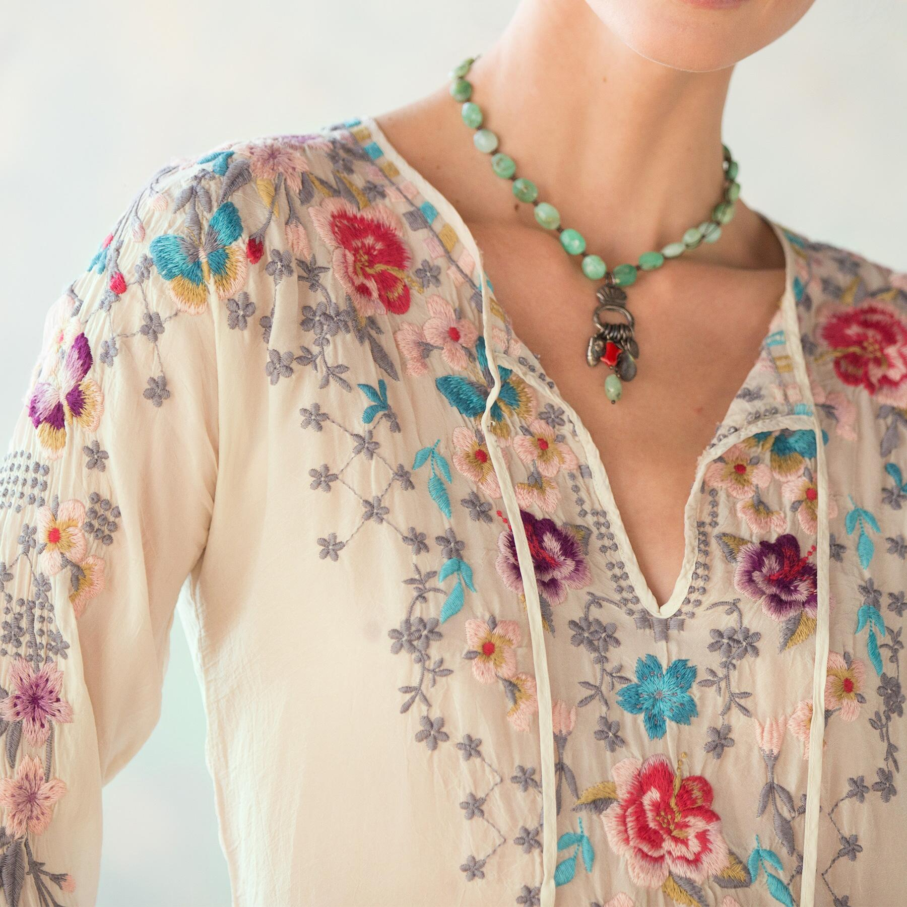 NECTAR & ROSE TOP: View 3