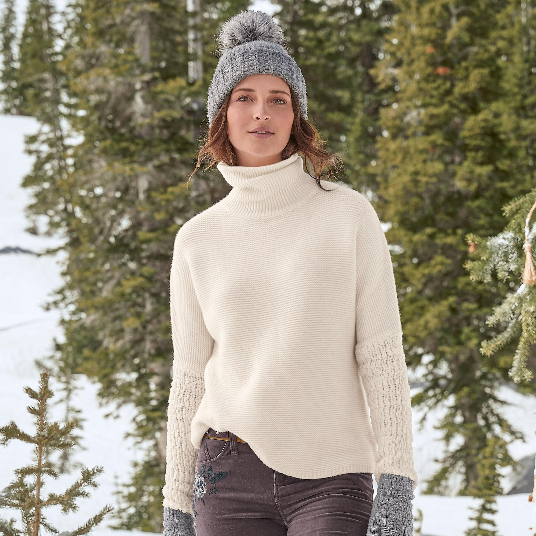 CHALET COOL TURTLENECK: View 1