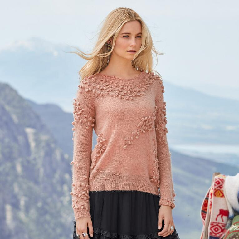 WINSOME WAYS PULLOVER