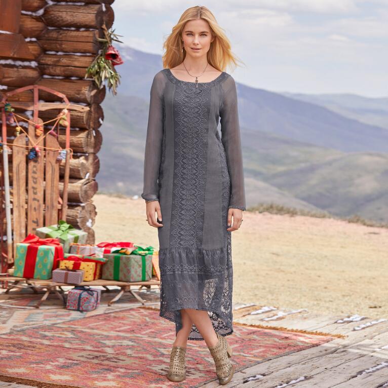 VIVIANA CHIFFON DRESS PETITE
