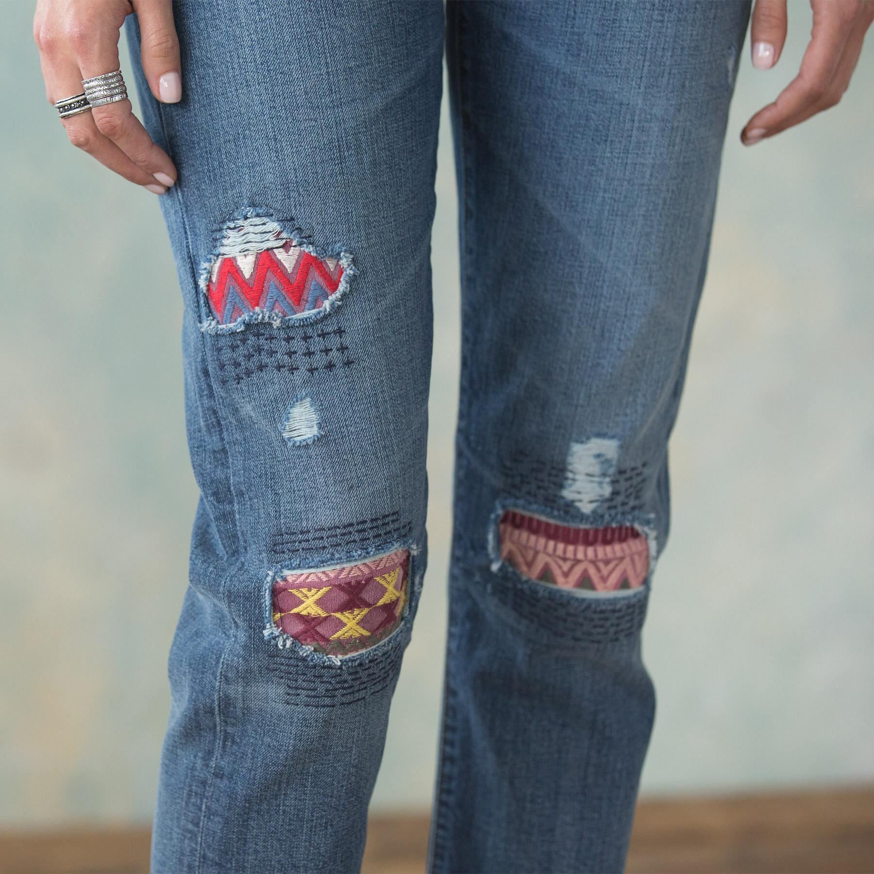 PLAYFUL PATCH JEAN: View 4