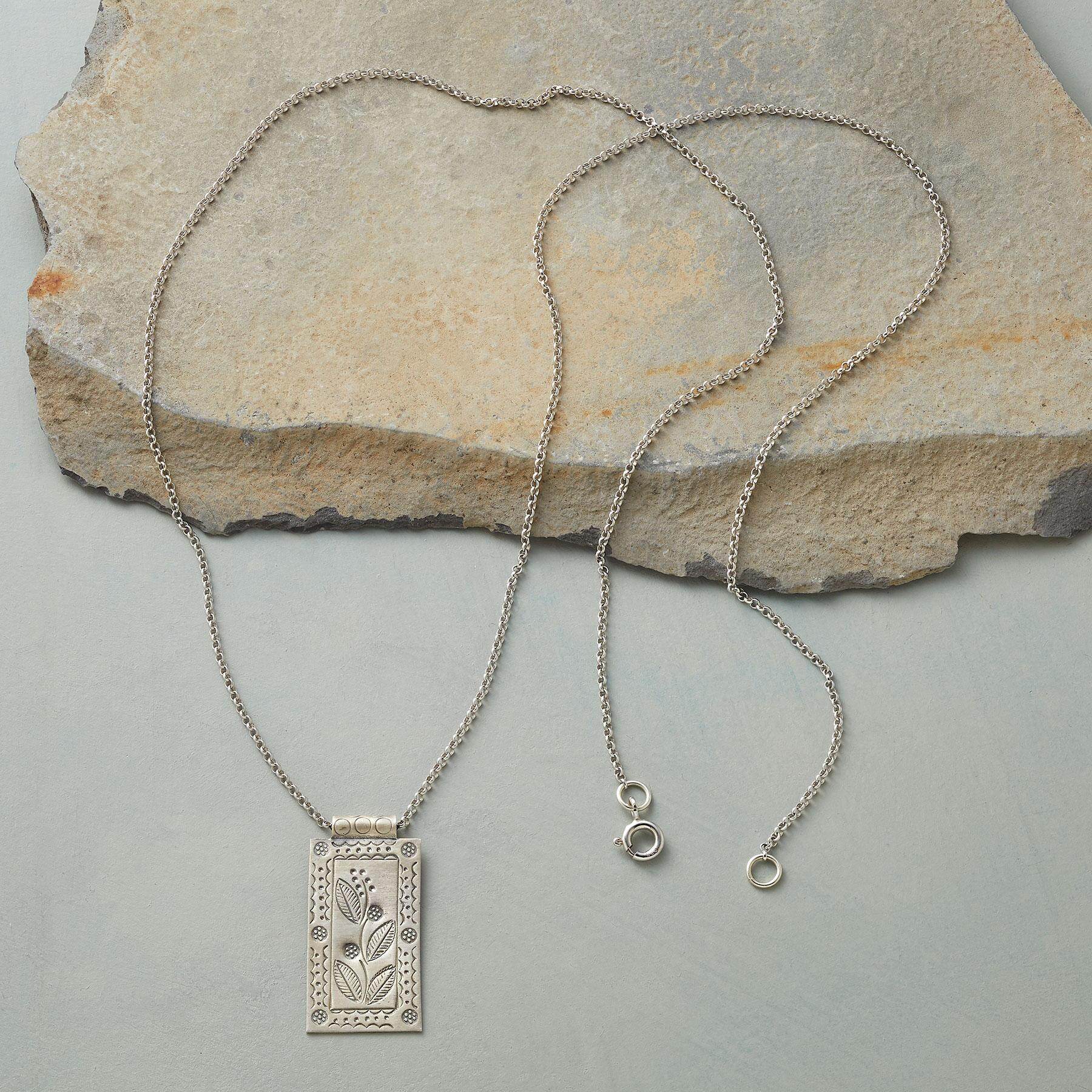 PARCHMENT SCROLL NECKLACE: View 2