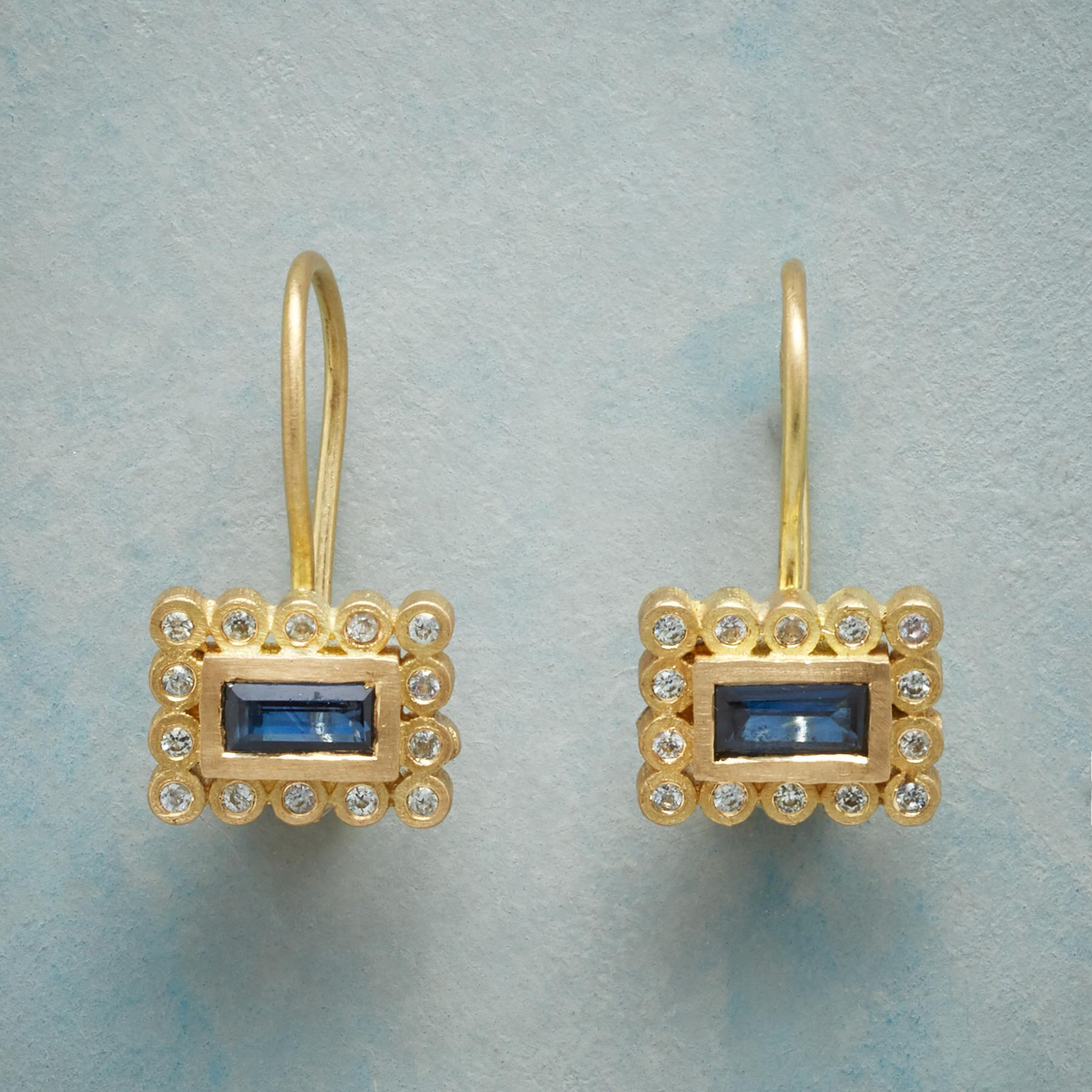 STARRING SAPPHIRE EARRINGS: View 1
